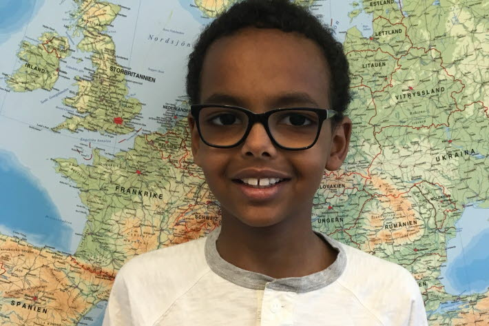 Ihsan - jury, Children's Climate Prize 2017
